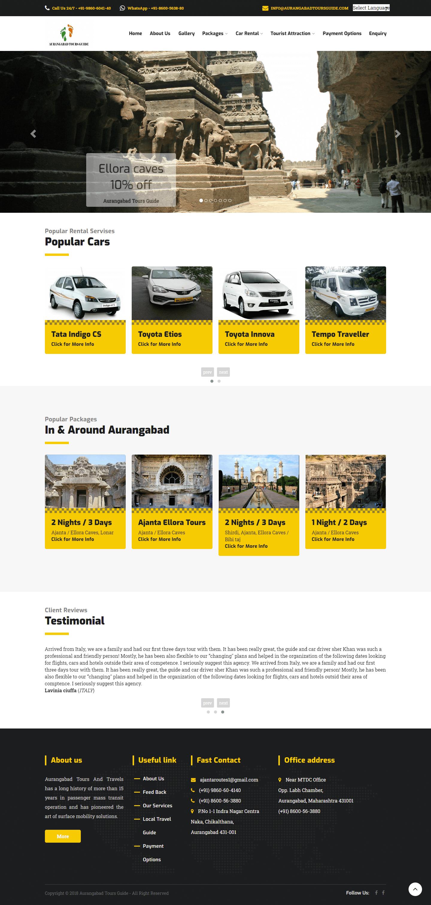 Aurangabad tour and travels